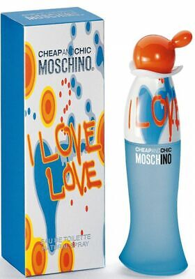 MOSCHINO CHEAP AND CHIC I LOVE LOVE 30ML EDT SPRAY BRAND NEW & SEALED