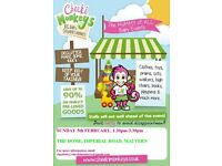 Pop Up Childrens Market - preloved clothes, toys and equipment - suitable from birth to age 9.