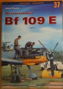 Messerschmitt Bf 109 E vol. I - Kagero Monograph - Reda, Polska - Zwroty są przyjmowane - Reda, Polska