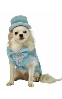 Rasta Imposta Dumb and Dumber Harry Blue Tuxedo Dog Costume, X-Small - Blue Dumb And Dumber Tuxedo