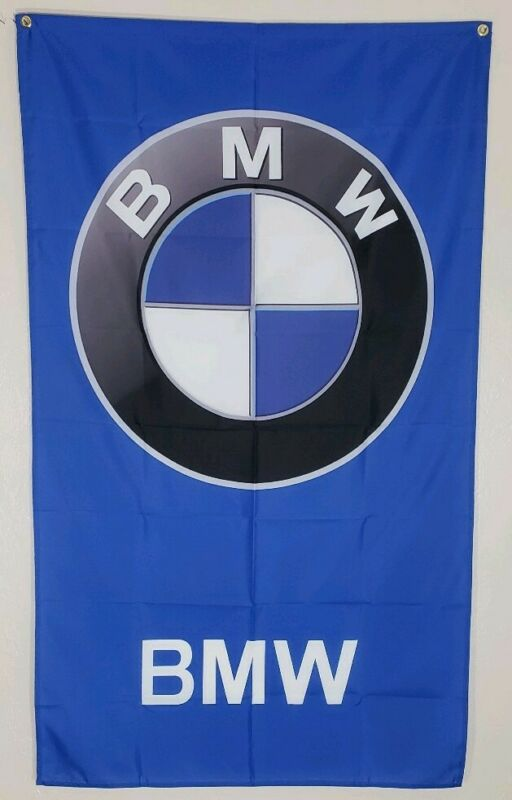 BMW Banner 3x5 Ft Flag Car Show Garage Shop Wall Decor M Coupe Roadster M Power