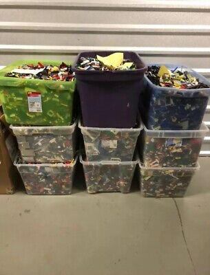 Lego Bulk 5lbs From Many Sets WITH MINIFIGURES!! YOU CHOOSE MULTIPLES OF 5lbs!