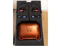 Westone W20 headphones, case, original box and spare buds