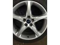 Ford Focus alloys 5 stud alloys brand new 225/40/18