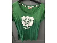 C super dry green t shirt 12