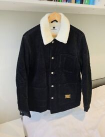 Topman Black Borg Jacket Size Small