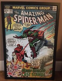 Marvel Comics The Amazing Spider-Man Poster With Frame - 97 cm height x 70 cm width