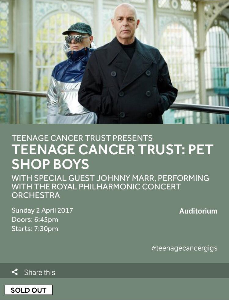 PET SHOP BOYS LIVE ROYAL ALBERT HALL 02 04 2017 TEENAGE CANCER TRUST. PET SHOP BOYS LIVE ROYAL ALBERT HALL 02 04 2017 TEENAGE CANCER