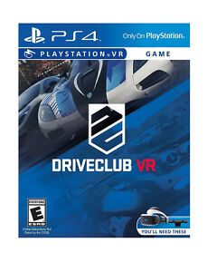 PSVR Drive Club - PlayStation 4 Standard Edition
