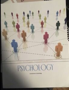 INTRODUCTION TO PSYCHOLOGY / TEXTBOOK / COLLEGE / UNIVERSITY