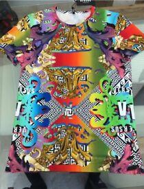 Versace Versus Rainbow T Shirt M