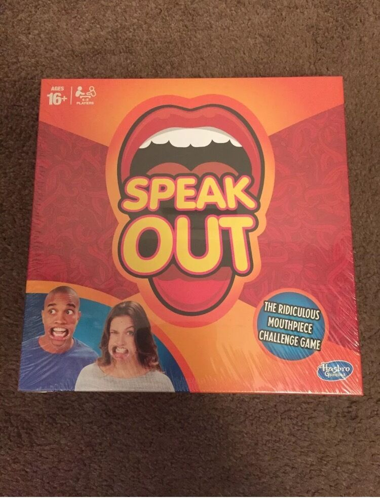 Speak Out game, brand new and sealed. Collection M41, £15