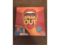 Speak Out game, brand new and sealed. Collection M41, £20