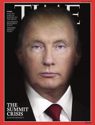 New Sealed TIME Magazine 30 July 2018 THE SUMMIT CRISIS DONALD TRUMP V PUTIN