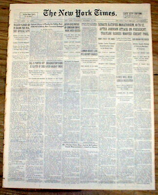 BEST 1931 NY Times newspaper GANGSTER