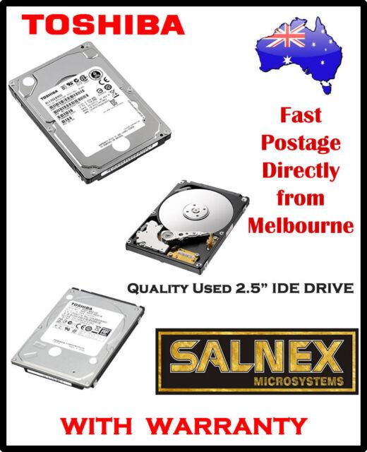 "Toshiba 40GB 2.5""  IDE Hard Drive Model: MK4026GAXB ZE01 T IBM Part No: 71P707"