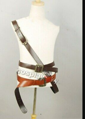 Jack Sparrow Costume Accessories (Pirates of the Caribbean Captain Jack Sparrow Cosplay Belt Costume)
