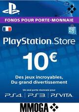 €10 EUR Carte PlayStation Network - 10 EURO PSN Code Jeu - Compte français - FR