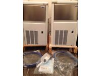 Isotherm clear ice makers x2