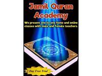 Learn Quran with Male and Female Tutors One-to-One Home and Online Classes with Tajweed
