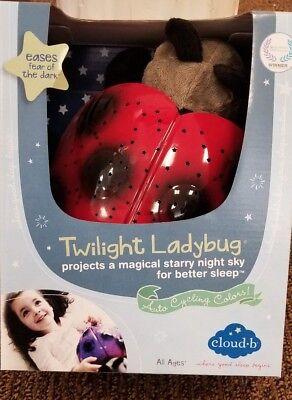 Cloud b Twilight Constellation Night Light, Lady Bug (Twilight Bug)