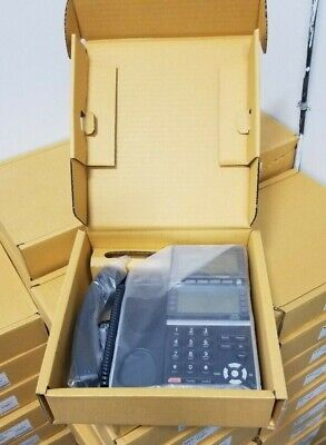 Nec Itz-8ldg-3bk Tel Dt830g Ip Desi-less Gigabit Endpoint Phone 660018 New