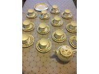 38 Piece tea set. Bone China