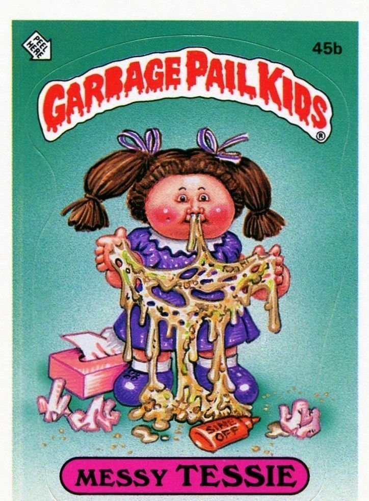 Garbage Pail Kids Collectable Trading Cards For Sale Ebay
