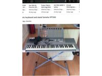 Electronic keyboard and stand Yamaha YPT300