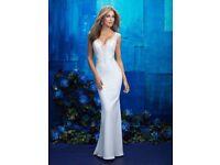 Allure bridal 9417 size 10 brand new wedding dress Ivory