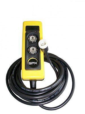 Taste Pumpe (Fernbedienung/Taster Chapel für Kippanhänger mit E-Pumpe 4m Kabel,Magnetbefestig)