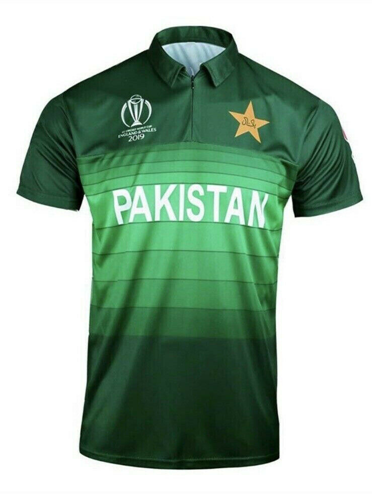 6a1a0f1fb ICC OFFICIAL PAKISTAN CRICKET WORLD CUP 2019 SHIRT JERSEY OFFICIAL LICENSED  AJ | in Penylan, Cardiff | Gumtree