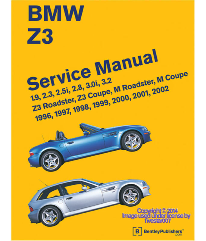 nEw  OE  Bentley Diagram Book Repair Guide Service Manual  for e36 BMW  z3 / z3M
