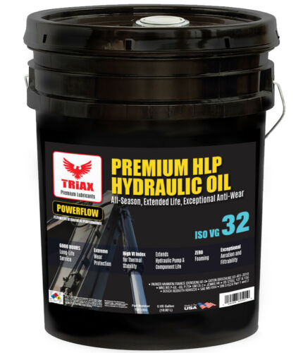 TRIAX POWERFLOW™ AW 32 6000 Hr Hydraulic Oil | Double Anti-Wear | - 46 F Flow