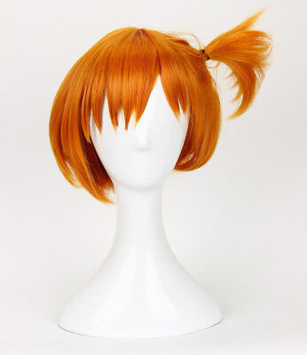 Pokemon Misty Wig Styled Short Orange Cosplay Wig Costume Wigs Cos Hair (Misty Pokemon Adult)