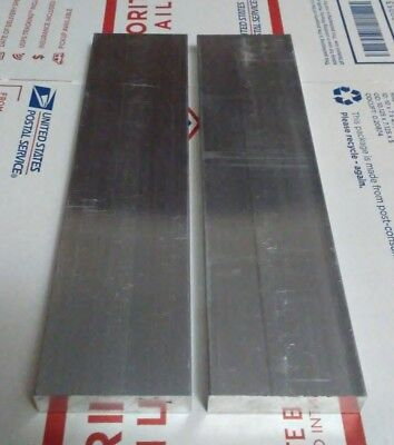 2 Pc 12 X 2 X 12 Long New 6061 T6 Solid Aluminum Plate Flat Stock Bar Block
