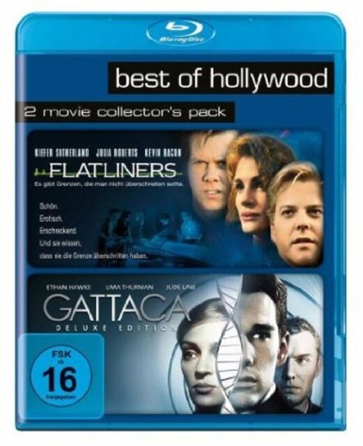 Blu-ray * Flatliners + Gattaca * NEU OVP * 2 Filme