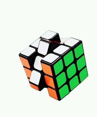 3x3x3 Twist Puzzle Magic Rubix Cube Classic Cube Toy Game Kids