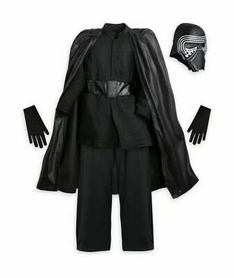 NEW Disney Store Star Wars Kylo Ren Costume 7/8 kids