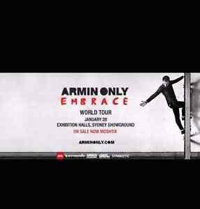 2 x  ARMIN VAN BUUREN - Armin Only: Embrace Sydney Sydney City Inner Sydney Preview