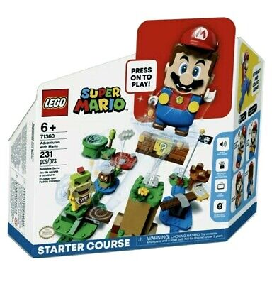 Lego 71360 ▪︎ Adventures With Mario Starter Course ▪︎231 Pieces. New And Sealed.