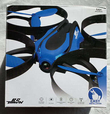 RCtown Drone with Camera End Video, ELF II HW Mini WiFi FPV Drone for Kids 14+