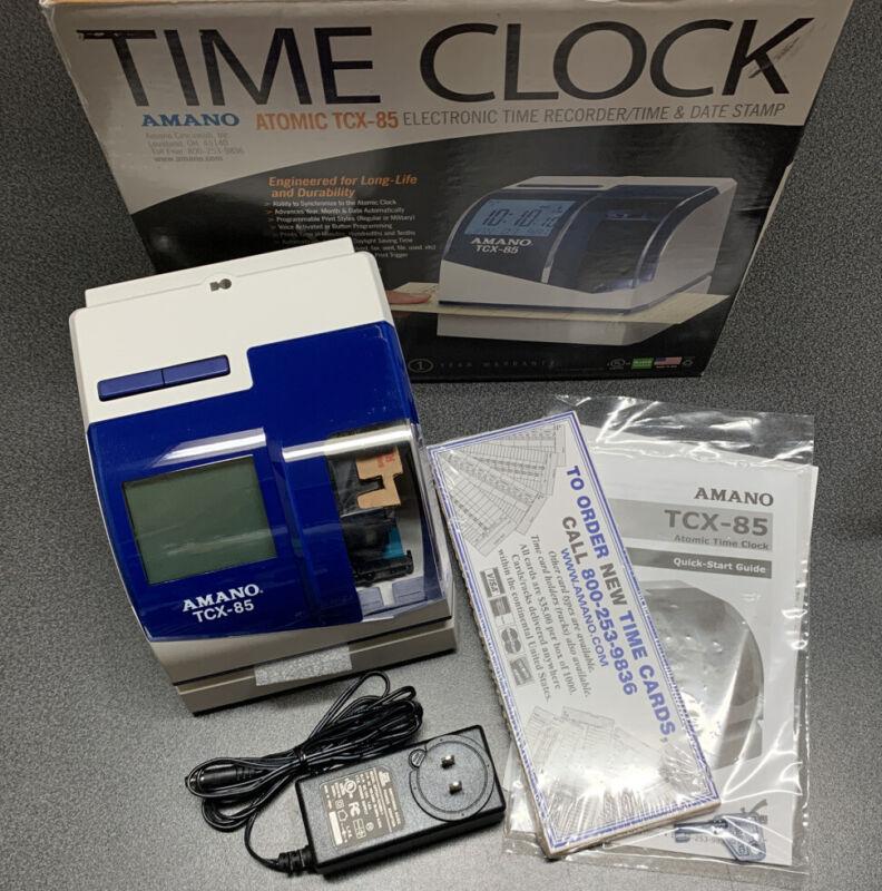 Amano TCX-85 Atomic Time Clock