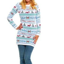 Christmas Jumper dress size 18-20