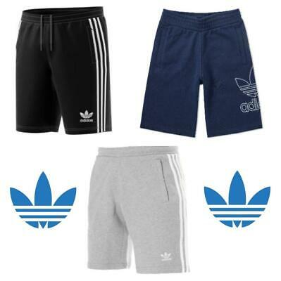 Adidas Originals Shorts 3 Stripe Shorts Gym Shorts Summer Shorts Black/Grey/Navy