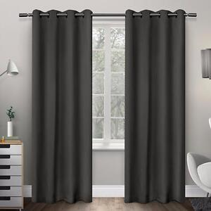 Blackout Thermal Curtain Panels by Amalgamated Textiles - Brand New