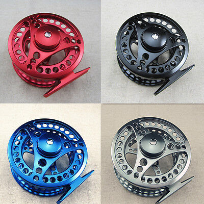 CNC Machined Aluminum Fly Fishing Reel Adjustable Disc Drag 5/6 7/8 9/10   Disc Drag Fly Fishing Reel