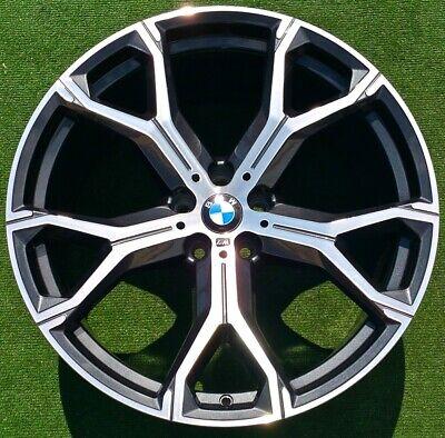 Factory BMW X5 Wheels 21 inch Set 4 Perfect Genuine Original OEM 741M Orbit Gray