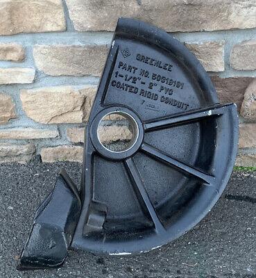 Greenlee 1-12-2 Pvc-coated Rigid Shoe 854 855 Smart Bender 50319191 Nice