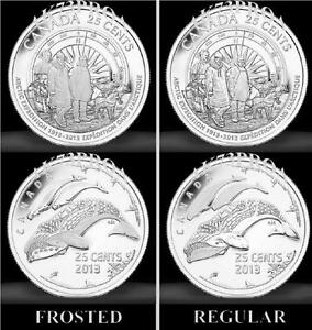 Canada-2013-UNC-PR-Canadian-Canada-Arctic-Expedition-Quarter-Twenty-Five-25-SET